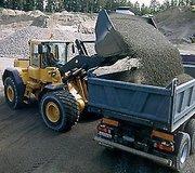 Доставка песка речного и овражного,  щебня